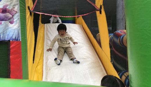 【重機展】りょうくん4歳誕生日にプチ旅行に行ってきた話 その5【工事中!】